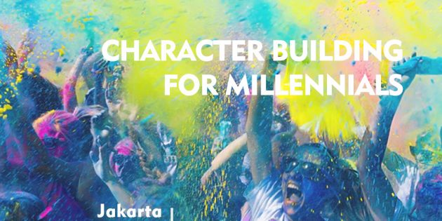 CHARACTER BUILDING FOR MILLENIALS – Almost Running