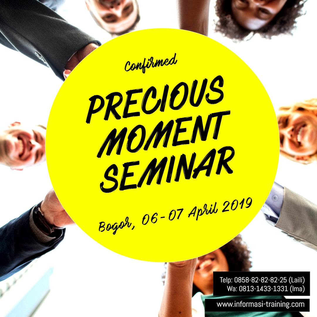 precious moment seminar